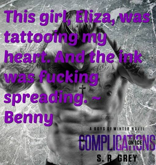 Complications on Ice quote